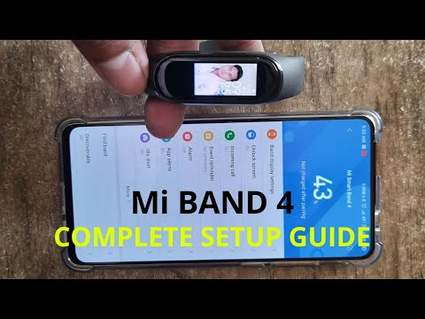 Mi BAND 4 : COMPLETE SETUP GUIDE