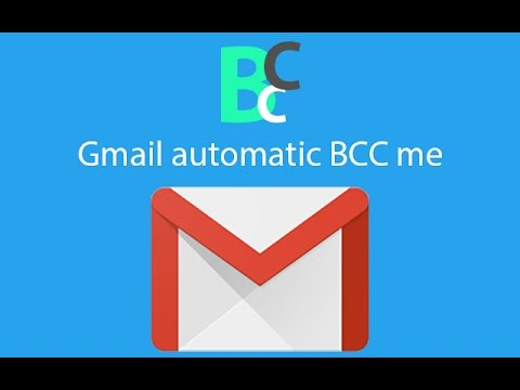 Gmail automatic BCC Me By 010Pixel Tutorial