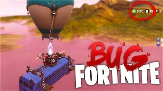 WHERE DOES THE BUS TAKE YOU IF YOU DO NOT JUMP? Fortnite Mysteries (BUG)