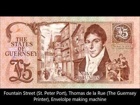 GUERNSEY BANKNOTES ISSUE 1990-1991