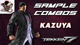 Tekken 7: Kazuya - Staple Combos thumbnail