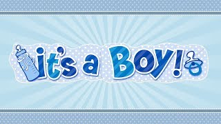 it's a baby boy /  it's a baby boy song / it's a baby boy announcement / New born Baby