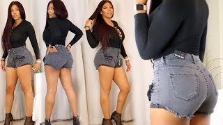 FASHION NOVA JEAN GUIDE : HAUL! BRING OUT YOUR CURVES   SUMMER 2017