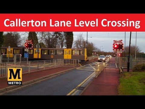 Callerton Lane Level Crossing - Tyne And Wear Metro - Woolsington, Newcastle Upon Tyne