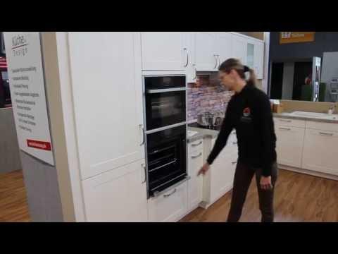 Internationale Küchenmesse In Stuttgart   Neff Backofen Mit Versenkbarer    YouTube