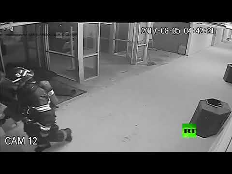 كاميرات مراقبة تلتقط لحظة وقوع تفجير في مسجد أمريكي  - نشر قبل 1 ساعة