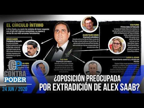 USA ganaría EXTRADICIÓN de ALEX SAAB | Contra Poder | José Colina | Esteban Hernández | 1 de 2