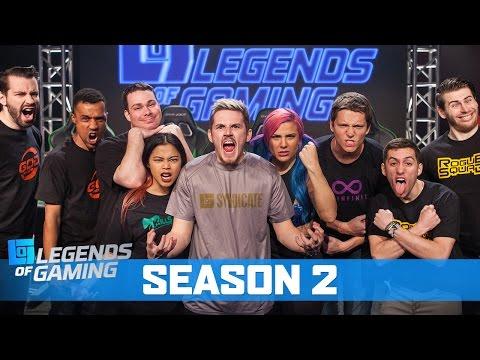 Legends of Gaming Season 2 (Trailer)