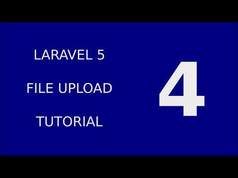 Laravel 5 FileUpload Tutorial System - 4 Validate File Upload Types and Size part 1