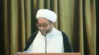 الشيخ محمد صنقور :آيات القرآن تنفي عن الاسلام تهمة الارهاب