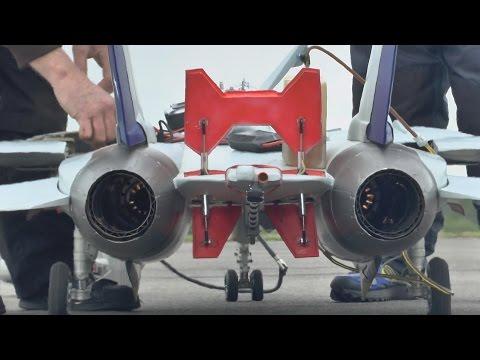 TWIN Kingtech K210 ENGINE STARTUP...