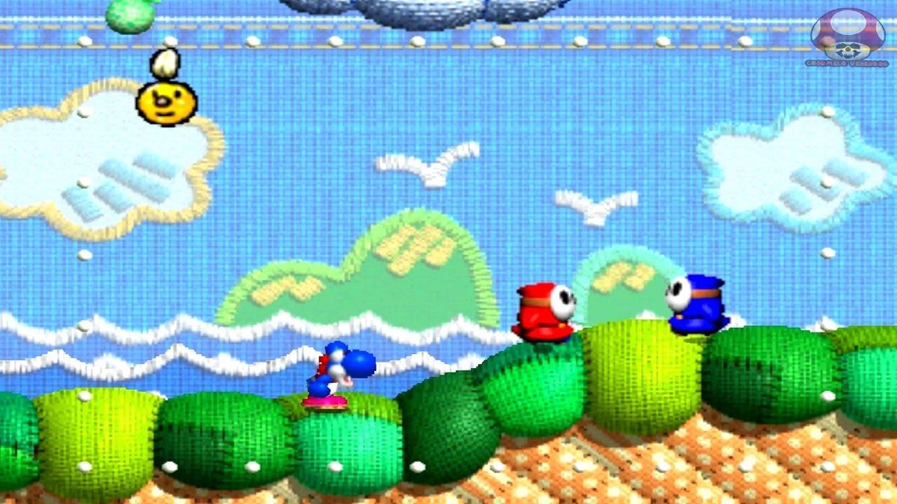 Gameplay: Yoshi's Story (Nintendo 64) - YouTube
