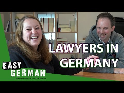 Lawyers in Germany | Easy German 185