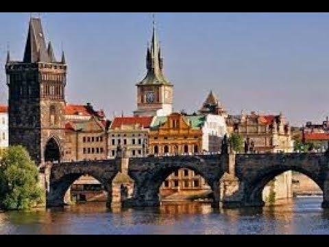 Карло мост. Пражский Град.Популярные достопримечательности Праги (Чехия)
