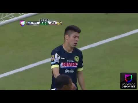 America vs Montreal Impact 4-2 Concacaf Champions Abril,29 2015 Highlights Univsion