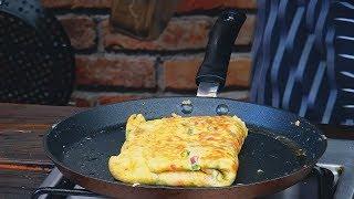 Najszybsze śniadanie  Omlet z chlebem !  bread omlet/ Oddaszfartucha