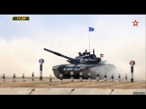 "International Army Games August 2, 2016 ""Tank Biathlon"" Day 4 Race 8"