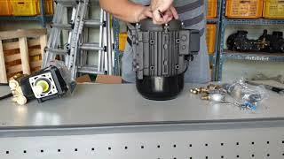 모터펌프 조립영상-1, 모터펌프,쿨링포그펌프,1.1KW…