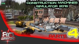 Construction Machines Simulator 2016 parte 4