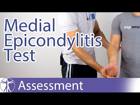 Medial Epicondylitis Test⎟