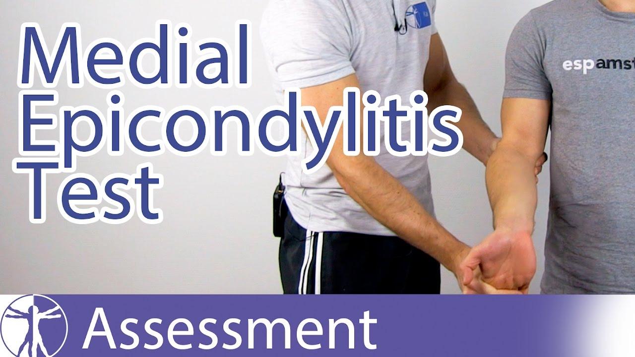 Medial Epicondylitis Testgolfers Elbow Youtube