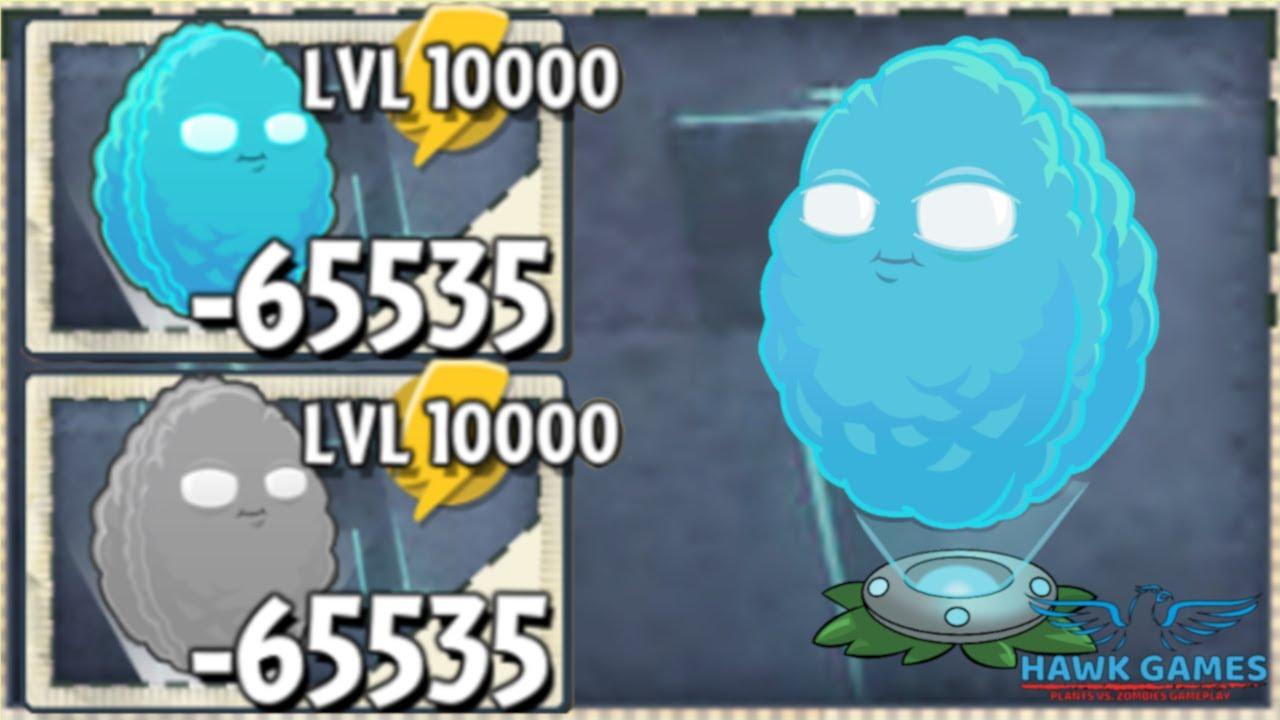 Plants vs Zombies 2 Infi-nut Upgraded to Level 10000 PvZ2