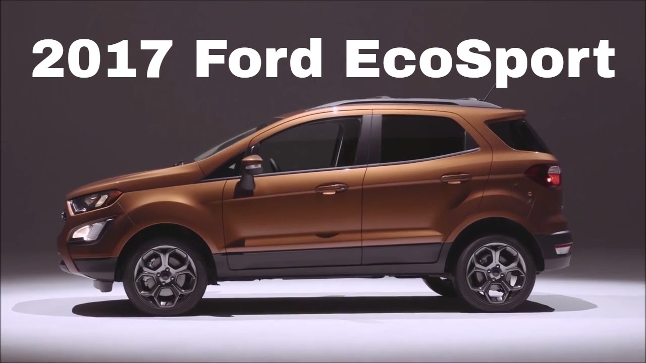 ford ecosport 2017 facelift india youtube. Black Bedroom Furniture Sets. Home Design Ideas
