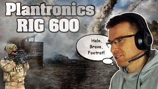 Plantronics RIG 600 - test, re…