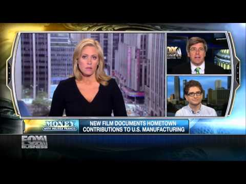 American Made Movie - FOX-Money with Melissa Francis Interviews Vincent Vittorio