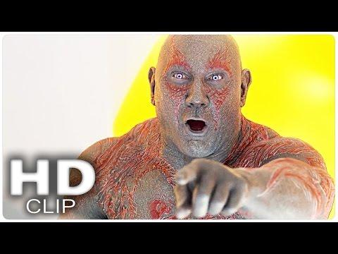 DRAX'S BIG LAUGH | GUARDIANS OF THE GALAXY 2 Movie Clip | 2017 Marvel Superhero Movie HD