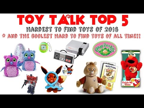 TOP 5 HARD TO FIND TOYS OF 2016 & COOLEST HARD TO FIND TOYS OF ALL TIME