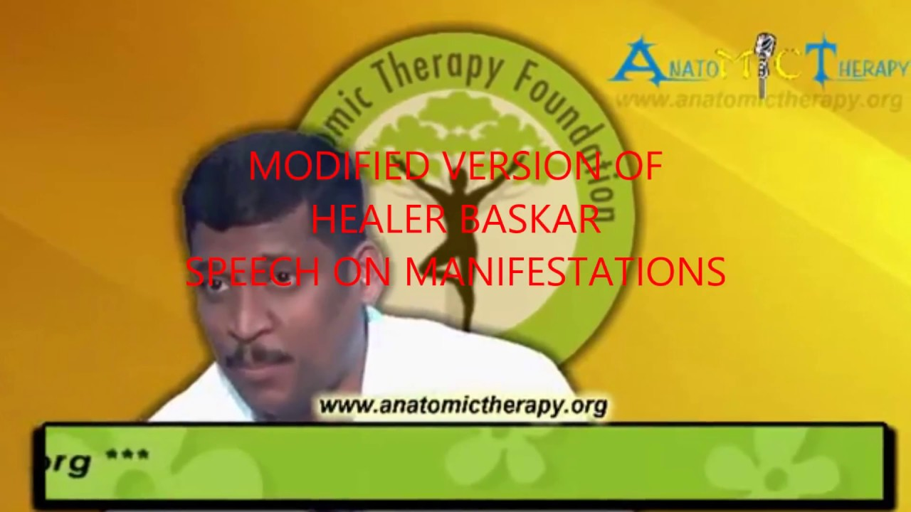 healer bhaskar speech in Malaysia Anatomic therapy- The Secret ...
