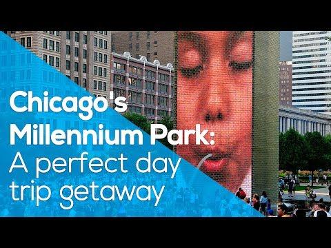 CHICAGO´S MILLENNIUM PARK: A PERFECT DAY TRIP GETAWAY /CROWN FOUNTAIN /CLOUD GATES