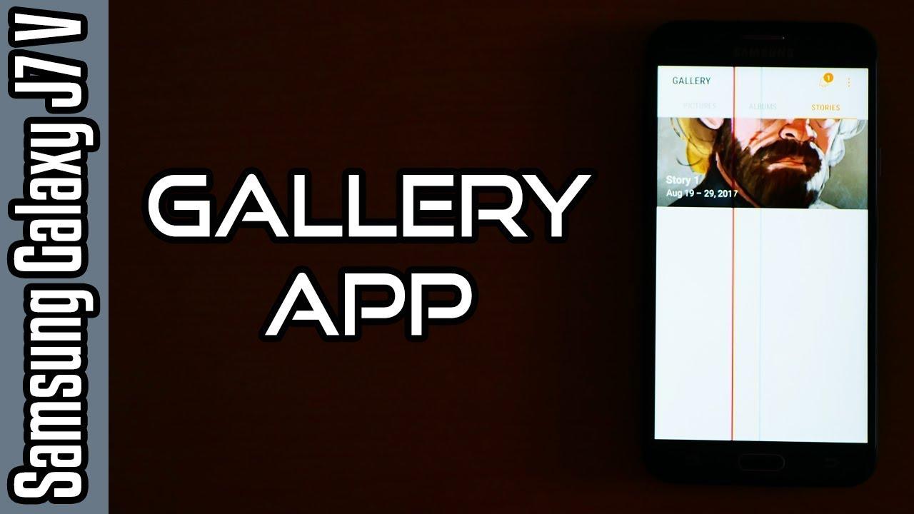 💡Samsung Galaxy J7 V (Verizon) Tricks🔨: Gallery App ! [4K]
