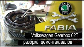 Gearbox 02T Volkswagen, Audi, Skoda. Часть 2. Разборка коробки передач(Ремонт МКПП Skoda. Аналогичные коробки устанавливаются на Volkswagen, Audi, Seat. Материал снимали для себя, чтоб не..., 2015-07-31T19:51:34.000Z)