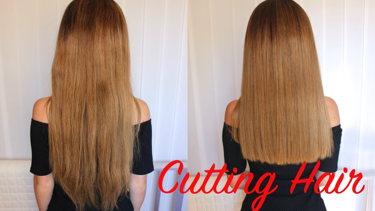 Cutting off 12 Inches of Hair  Hair cut Transformation  Stella