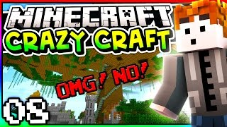 Minecraft: Crazy Craft 3.0 - Episode  8 - OMG! NO! DON