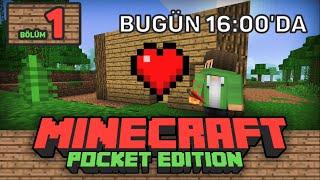 EFSANE SERİ! - Minecraft PE'yi Bitiriyoruz - [Türkçe] Let's Play Minecraft PE Survival