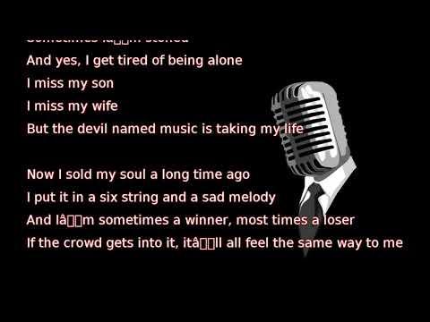 Chris Stapleton - The Devil Named Music (lyrics)