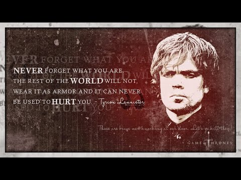 Game Of Thrones Inspirational Quotes (GoT)   Best Quotes Season 1 To 7