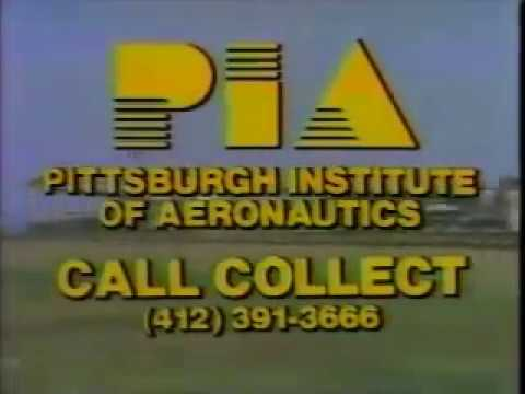 Pittsburgh Institute of Aeronautics - 1987