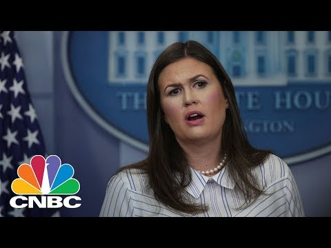 White House Holds Daily Press Briefing - Friday March 16, 2018 | CNBC