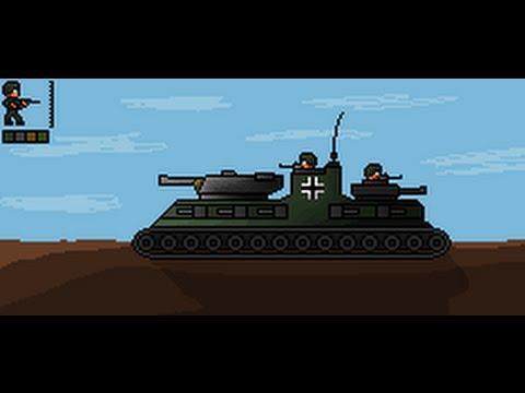 Pixel Art - WW2 German Landship