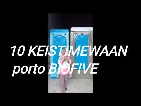 10 KEISTIMEWAAN Toilet Portable BIOFIVE