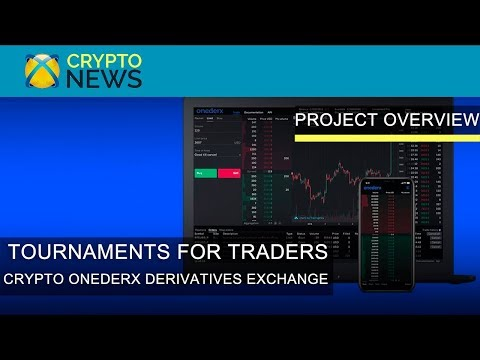 Tournaments For Traders. Overview Of The Cryptocurrency Exchange Onederx. Trade Bitcoin Derivatives?