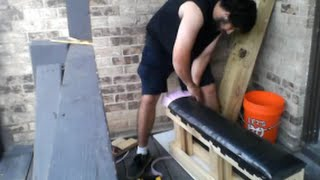 How To Build Your Own Weight Bench Like A Boss