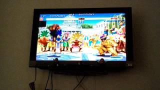Hyper Street Fighter 2 para Wii - el gameplay completo de Akuma con comentarios