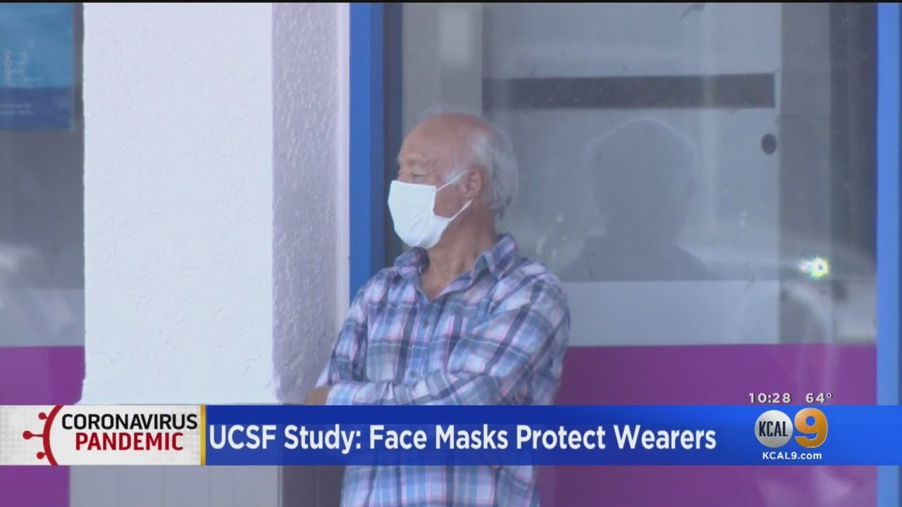 UC San Francisco Study Suggests Masks Do Protect Wearer From Contracting Coronavirus