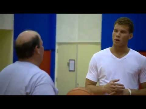 Blake Griffin SUBWAY training for Tahoe funny