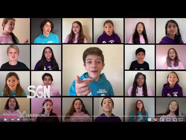 SGN- Some Good News Theme Song! - Squad Harmonix - Virtual Choir // Quaran-Teen Series #2